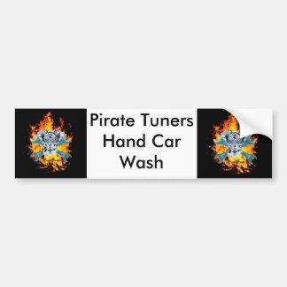Etiqueta dos afinadores do pirata adesivo para carro