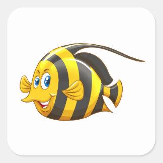 Etiqueta dos animais/peixes de Sealife