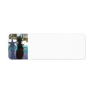 Etiqueta Estrela do mar do abacaxi