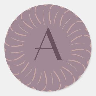 Etiqueta inicial - primavera parisiense adesivo