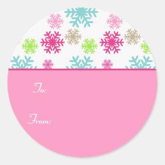 Etiqueta Labels//Sweet do Tag do presente do Natal Adesivo