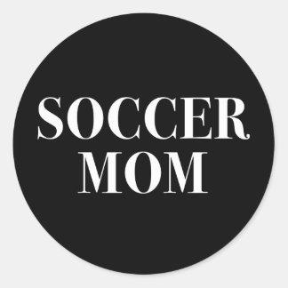 Etiqueta legal do slogan da mamã do futebol