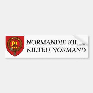 Etiqueta Normandia Kilts Adesivo Para Carro