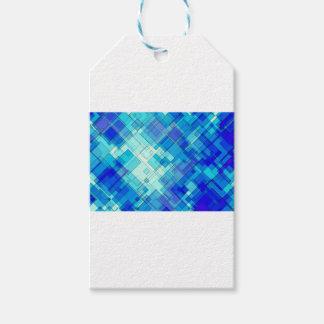 Etiqueta Para Presente Abstrato do azul