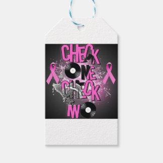 Etiqueta Para Presente Consciência do cancro da mama