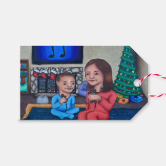 Etiqueta Para Presente Contagem regressiva ao Tag do presente do Natal
