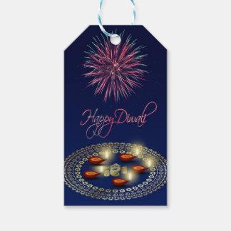Etiqueta Para Presente Diwali feliz Ganesha Rangoli - Tag do presente
