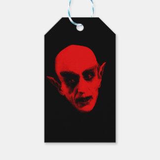 Etiqueta Para Presente Dracula