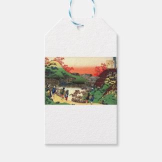 Etiqueta Para Presente Hokusai - arte japonesa - Japão