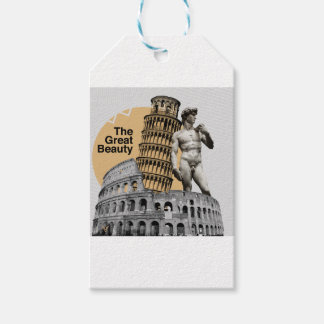 Etiqueta Para Presente Italia, a grande beleza