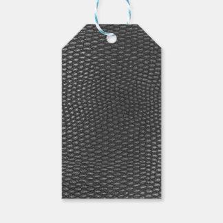 Etiqueta Para Presente Leather texture closeup