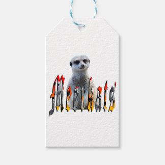 Etiqueta Para Presente Logotipo da imagem de Meerkat e de Meerkats,