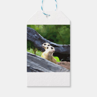 Etiqueta Para Presente Meerkats