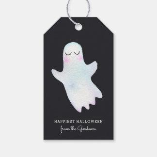Etiqueta Para Presente O fantasma pequeno o mais bonito o Dia das Bruxas