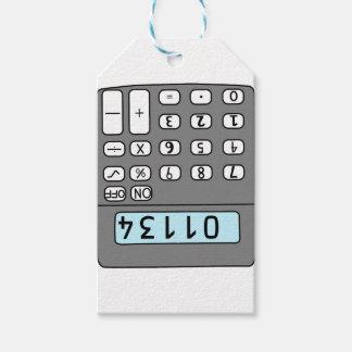 Etiqueta Para Presente olá! calculadora