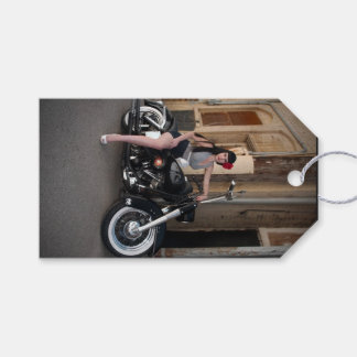 Etiqueta Para Presente Pin Rockabilly da motocicleta do centro do beco