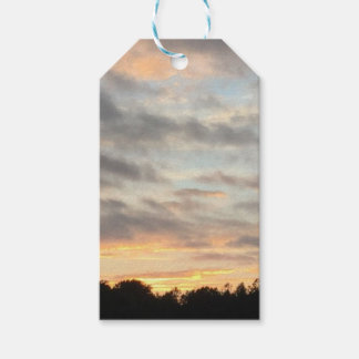Etiqueta Para Presente Por do sol bonito