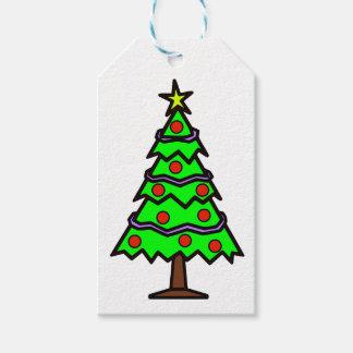 Etiqueta Para Presente Presente da árvore de Natal