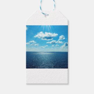 Etiqueta Para Presente Raios sobre o mar