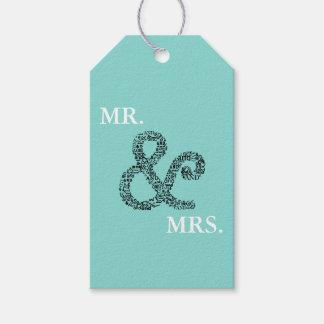 Etiqueta Para Presente Sr. do casamento do outono da NOIVA & do CO & Sra.