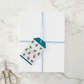 Etiqueta Para Presente Tag abstrato do presente da árvore de Natal