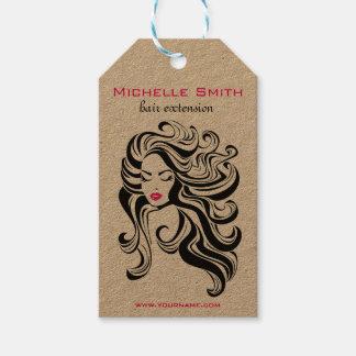 Etiqueta Para Presente Tag de suspensão do produto retro do penteado