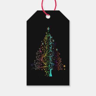 Etiqueta Para Presente Tag do presente da árvore da estrela