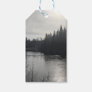 Etiqueta Para Presente Tag do presente da paisagem