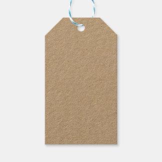Etiqueta Para Presente Tag do presente de Kraft