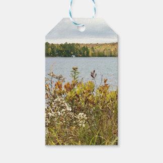 Etiqueta Para Presente Tag florais do presente da paisagem da queda de
