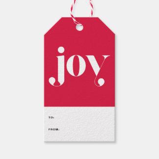 Etiqueta Para Presente Tag moderno do presente de época natalícia da