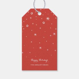 Etiqueta Para Presente Tag sazonais do presente de época natalícia da