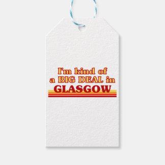 Etiqueta Para Presente Tipo de I´m de uma grande coisa em Glasgow