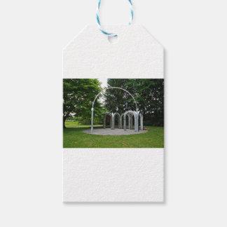 Etiqueta Para Presente Um arco no jardim