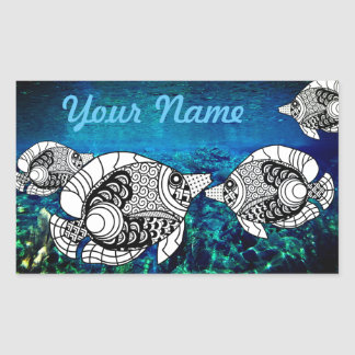 Etiqueta personalizada do AngelFish