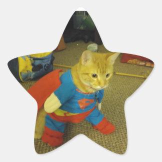 Etiqueta super do gato