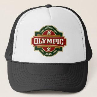 Etiqueta velha olímpica boné