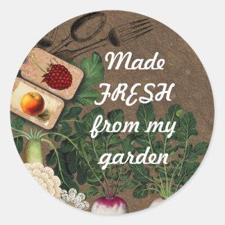 Etiquetas comestíveis do Tag do presente da comida Adesivo