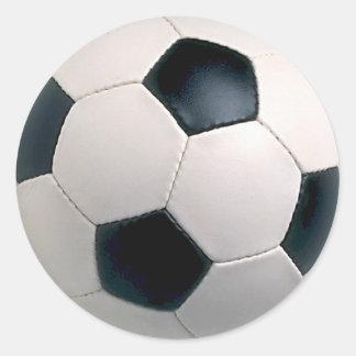 Etiquetas da bola de futebol adesivo