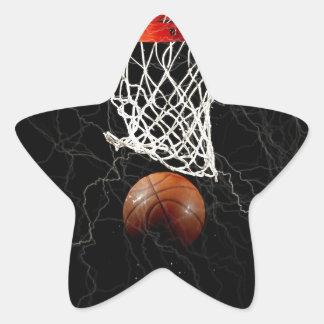 Etiquetas da estrela de basquetebol