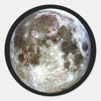 Etiquetas da Lua cheia Adesivo