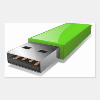Etiquetas da movimentação do flash de USB