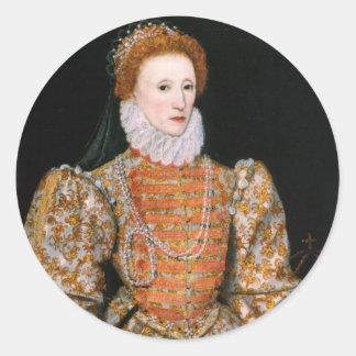 Etiquetas da rainha Elizabeth