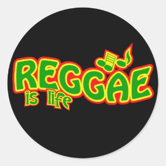 Etiquetas da reggae adesivo