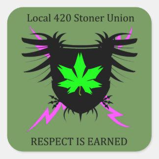 Etiquetas da união do Stoner