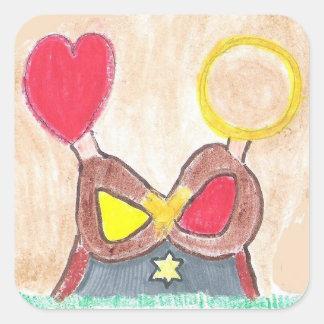 Etiquetas da unidade do amor de Inifinite