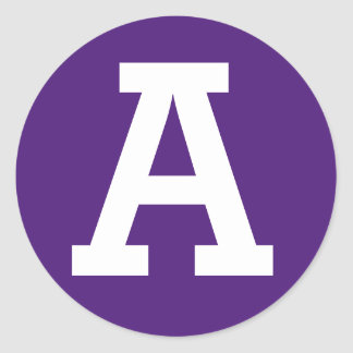 """Etiquetas de Anna """"A"""" Adesivo"""