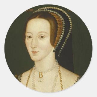 Etiquetas de Anne Boleyn Adesivo
