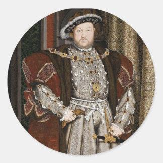 Etiquetas de Henry VIII Adesivo