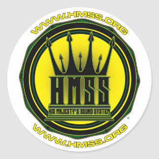 Etiquetas de HMSS Adesivo